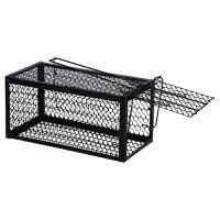 超强牢固耐用便携家用连续灭鼠笼单门捕鼠器单开老鼠笼子