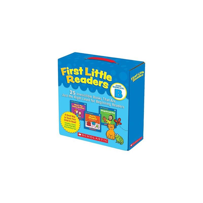 英文原版绘本童书 First Little Readers Level B 25册 阅读启蒙绘本 3-5-6-7-8岁学习英语正版图书