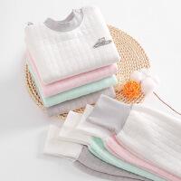 【券后价:33.8元】儿童婴幼儿加厚三层保暖儿童内衣套装夹棉高腰护肚棉裤婴儿套装