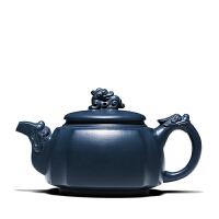 宜兴紫砂茶壶功夫茶具绿泥龙吟壶全手工泡茶功夫茶具礼品