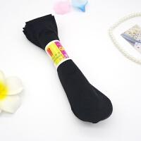 薄款天鹅绒丝袜防勾丝袜子短袜女士春夏季肉色黑中筒袜100双批发 黑色 100双 均码