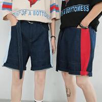 牛仔短裤男五分裤2018夏季新款裤子男韩版潮流宽松休闲裤