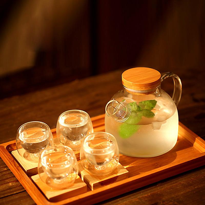 花茶壶水果茶壶养生茶壶玻璃茶具套装