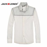 杰克琼斯 秋季 男士长袖衬衫 衬衣18-4-1-213105055023