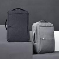 卡拉羊新款都市防盗包 男士商务双肩背包电脑包青年休闲旅行背包5937