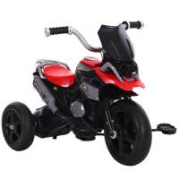 儿童三轮车带音乐灯光2-6岁大码男女宝宝自行车摩托车脚踏玩具车D25