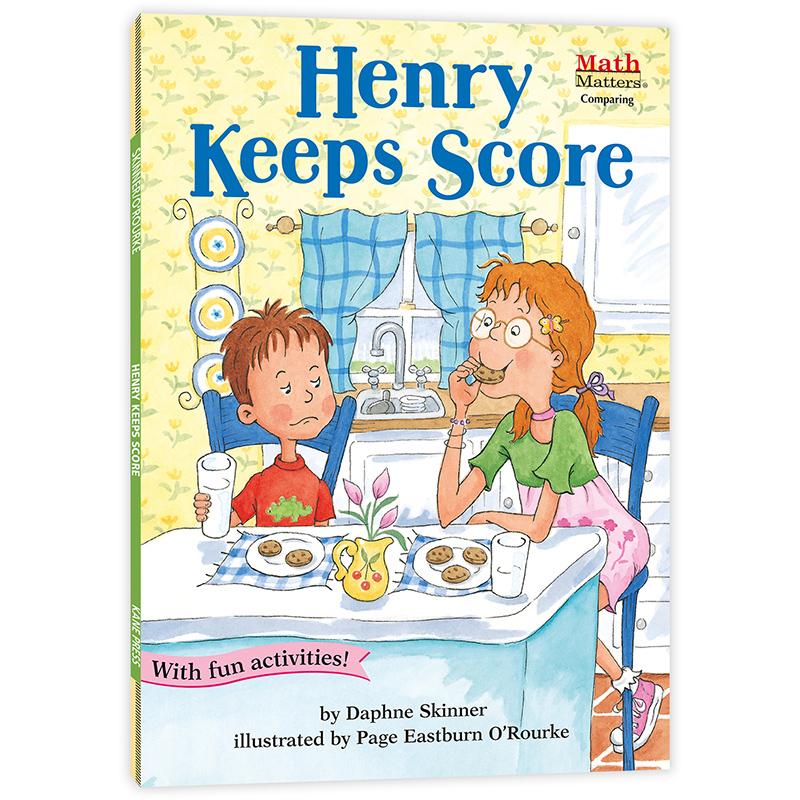数学帮帮忙:小记分员亨利 Math Matters: Henry Keeps Score 原版英文、全美教师喜欢用的数学绘本,获美国《学习杂志》教师选择儿童读物奖,把数学与孩子日常生活联系在一起,帮孩子轻松掌握基础数学概念,积累生活及数学相关英语词汇,是小学数学课的高质量辅助读物