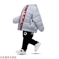 冬季秋冬男童棉衣2018新款儿童羽绒宝宝加厚保暖短款棉袄外套秋冬新款