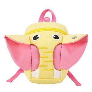 [3件3折 3折价:47.7]卡拉羊 防走失牵引绳背包1-2-3岁幼儿小书包 可爱卡通宝宝双肩包CX6062