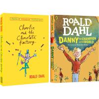 英文原版小说青少年 Roald Dahl 罗尔德达尔 5册合售 The Bfg/Witches女巫/查理和巧克力工厂/