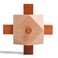 儿童玩具 高难度 方形木制鱼雷 孔明锁