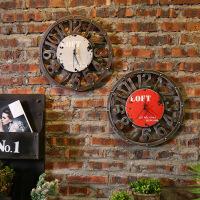 墙面墙壁挂件工业风挂饰复古创意家居客厅墙上装饰品