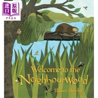 【中商原版】立体书:来到野外世界 Welcome to the Neighbourwood 低幼童书 亲子绘本 立体书