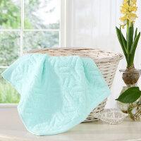 【爆款直降】水星家纺伊尔玟印度进口全棉提花方巾