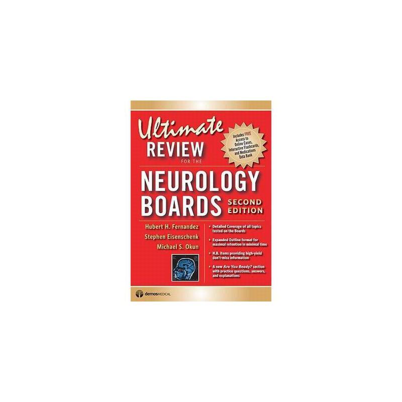 【预订】Ultimate Review for the Neurology Boards 美国库房发货,通常付款后3-5周到货!