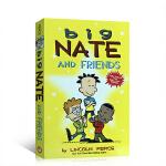 英文原版Big Nate and Friends 我们班有个捣蛋王大内特和朋友 漫画故事书 儿童课外读物