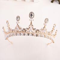 串珠饰品新娘皇冠气质头饰结婚公主发饰婚纱礼服配饰