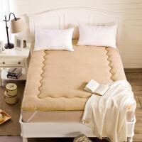 20180601230853684羊羔绒地铺睡垫榻榻米床垫床褥学生宿舍单人1.5米垫被褥