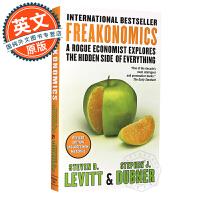 魔鬼经济学 英文原版 Freakonomics 格林斯潘推荐读物 罗辑思维 史蒂芬列维特 都伯纳 进口书 经济行政人力
