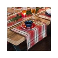 新年节日欧式餐巾 格子布艺隔热垫餐杯垫餐餐垫西餐垫