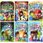 进口英文原版 怪兽传说 Little Legends Collection1-6册 The Spell Thief/