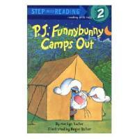 英文原版 搞怪小兔去露营 分级读物 P. J. Funnybunny Camps Out