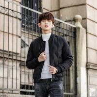 2018新款冬季短款韩版修身羽绒服男学生棒球立领轻薄帅气外套潮流