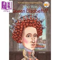 【中商原版】谁是伊丽莎白女王?Who Was Queen Elizabeth? What was 系列 中小学生人文历史