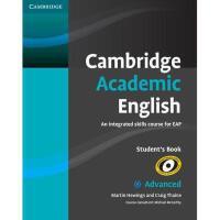 【预订】Cambridge Academic English C1 Advanced Student's
