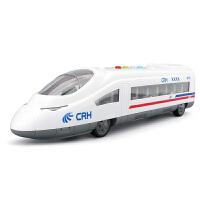 儿童音乐和谐号高铁火车头玩具惯性车男孩声光列车动车组仿真模型
