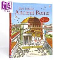 【中商原版】看里面:揭秘古罗马 See inside the Ancient Rome 翻翻书 趣味科普 亲子绘本 精装