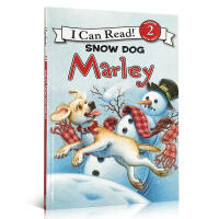 英文原版绘本 Marley: Snow Dog 小狗马利:雪狗Christmas 圣诞 New year 新年 I c