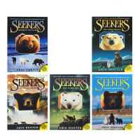 【全店300减100】英文原版SEEKERS 1-5 QUEST BEGINSPB/ SMOKE MTNPB 熊武士 猫