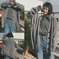 加肥加大码女装中长毛衣外套春夏韩版学院风200斤胖mm针织开衫