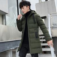 冬季棉衣男2019新款韩版潮流冬装棉袄衣服外套羽绒棉服加厚中长款