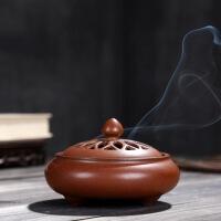 陶瓷香炉家用室内客厅卧室仿古茶道香道供佛檀香沉香艾草香薰炉小