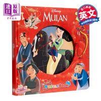 【中商原版】迪士尼拼图故事:花木兰 My First Puzzle Book : Disney Mulan 益智游戏书