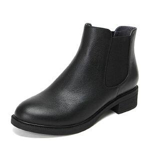 Teenmix/天美意牛皮女休闲靴80623DD6