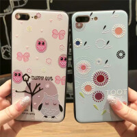 苹果6手机壳iphone8防摔保护套6s全包7plus挂绳卡通可爱潮女款新x