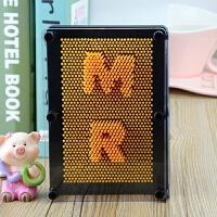 热门抖音同款3d三维针雕立体百变针画脸印玩具儿童创意礼物 特