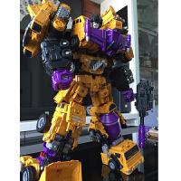 大组合模型男孩 大力神变形玩具金刚六合体工程车汽车机器人