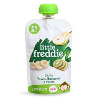 英国小皮Little Freddie 香蕉猕猴桃梨苹果泥90g 6m+ 富含奇异果