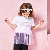 巴拉巴拉童装女童套装小童宝宝儿童两件套夏装新款吊带T恤棉