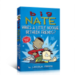 英文原版 Big Nate: What's a Little Noogie Between Friends? 大内特儿