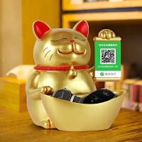 创意开业礼品招财猫摆件收银台装饰品开张实用摆设