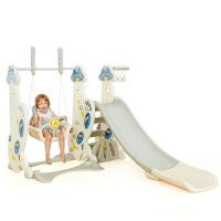 儿童室内滑梯家用多功能滑滑梯宝宝组合滑梯秋千塑料玩具加厚玩具