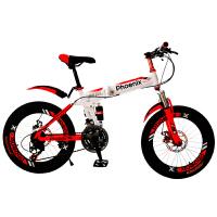 女孩6-8-10-12岁小学生山地车儿童折叠自行车20/22寸男孩童车