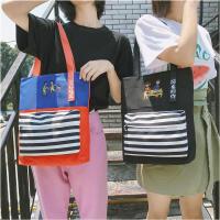 帆布包女单肩包新款ins韩版简约百搭森系大包学生手提文艺布袋包