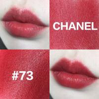 香奈儿Chanel 口红/唇膏可可小姐水亮/丝绒系列73号 草莓红