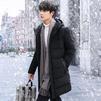 男士棉衣2018新款加厚外套冬季中长款大码韩版潮羽绒冬装棉袄